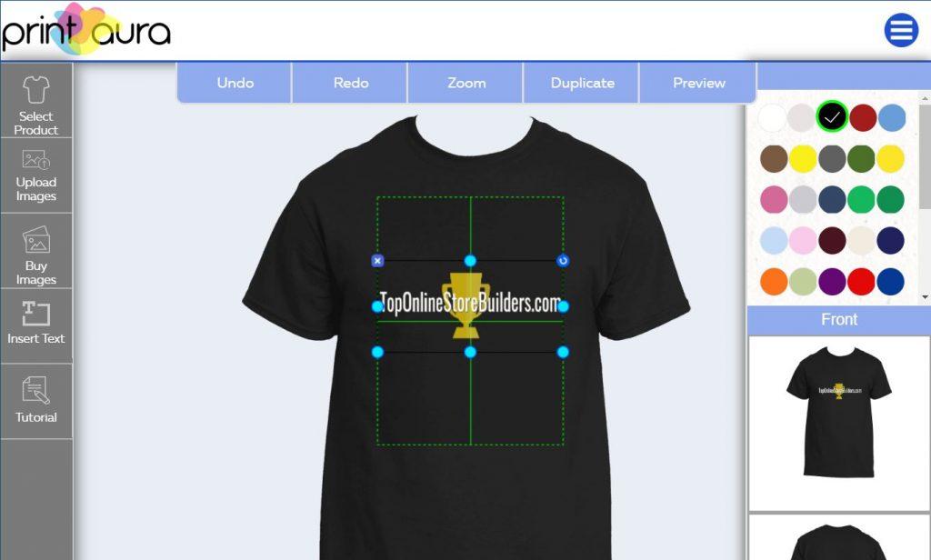 Printaura T-Shirt Mockup Generator Tool