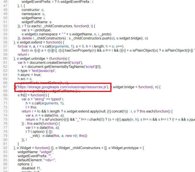 "Malware injection in ""/a/j/vnav.js"""